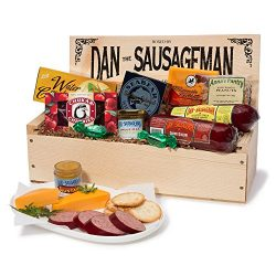 Dan the Sausageman's Favorite Gourmet Gift Basket -Featuring Dan's Original Sausage, ...