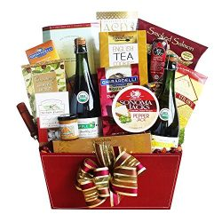 California Delicious Sparkling Celebration Gift Basket