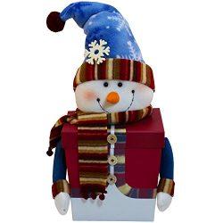 Snowman Tall Gift Box of Holiday Christmas Treats