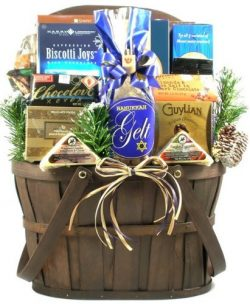Gift Basket Village A Celebration of Hanukkah Chocolate, 7 Pound