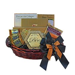 With Heartfelt Sympathy Gourmet Food Gift Basket – Small
