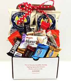 Unlocking Greatness You Are LOVED Candy & Snacks Gift Basket (Design 4)