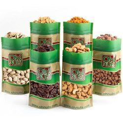Mixed Nuts Gift Box – 6 Gourmet Varieties 30 Oz – Great for Gift Giving Or As an Everyday  ...