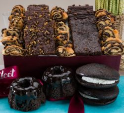 Gourmet Chocolate Lovers #1 Brownie Ganache Bakery Collection Filled with: Chocolate Bundts, Cho ...