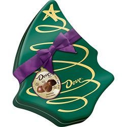 Dove Mixed Chocolate Truffles in Tree Tin, 5.64 Ounce