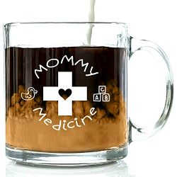 Mommy Medicine Funny Coffee Mug 13 oz – Best Birthday Gifts For Mom – Unique Gift Fo ...
