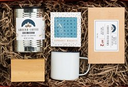 Coffee Therapy Gift Set by Thoughtfully Gifts a Kit for Creative Coffee Lovers, Brew one Cup wit ...