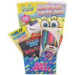 Get Well Gift Basket For Kids 8 and Up With Activity Books and Games by Gifts Fulfilled comes Fu ...