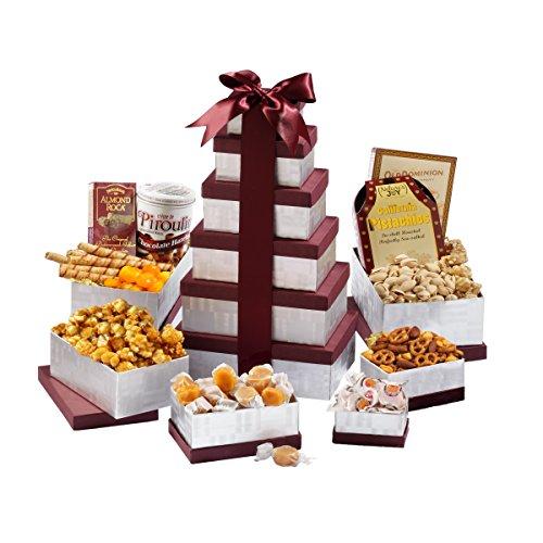 Happy Birthday Gift Tower By Gourmetgiftbaskets Com: Broadway Basketeers Happy Birthday Celebration Happy