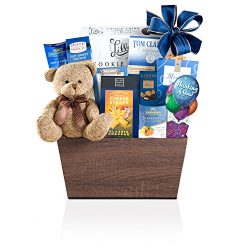 Wine Country Gift Baskets Bear Hugs Thinking Of You, 3.5 Pound