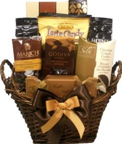 Delight Expressions® Coffee and Chocolate Lovers Gourmet Food Gift Basket – A Mother' ...