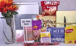 Get Well Gift Box Basket – For Surgery / Injury / Cold / Flu / Illness – Over 2 Poun ...