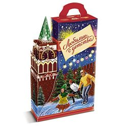 """""""Favorite from Childhood"""" Christmas & New Year Gourmet Russian Chocolate Candy A ..."""