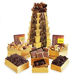 California Delicious Golden Godiva Tower Gift Set