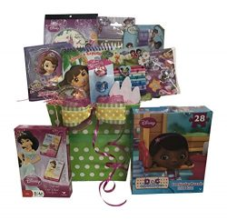 Dora the Explorer and All Friends Birthday Gift Baskets for Girls, Perfect Get well Gifts for ki ...