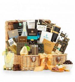 Grand Indulgence Gourmet Gift Basket – Premium Gift Basket for Men or Women