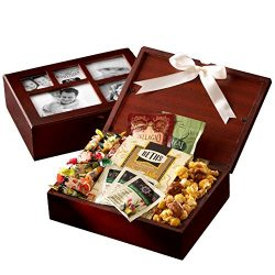 Broadway Basketeers Sweets & Snacks filled Photo Gift Box Collection – A Unique Gift Idea