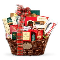 Gourmet Holiday Cheer Gift Basket