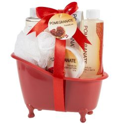 Pomegranate Tub Bath Gift Set