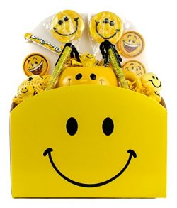 Smiley Face Happy Day Gift Basket, Full of Sunshine and Smiles (Large)