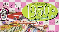 1950's Retro Candy Gift Box-Decade Box Gift Basket – Classic 50's Candy – ...