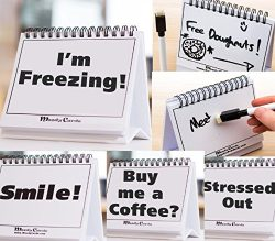 Moodycards – Funny Office Gifts – Over 30 Different Mood and Practical Flip-Over Mes ...