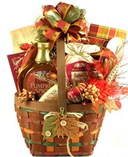 Autumn Gift Basket | Caramel Apple Butter, Pumpkin Spice Syrup and More
