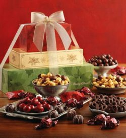 Holiday Sweets Tower – Gift Baskets and Fruit Baskets – Harry and David