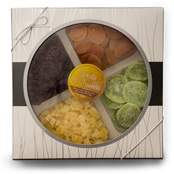 Gift Baskets Gourmet Deluxe, Classic Dried Fruit Platter Apricots, Pineapple, Dried Cranberries, ...