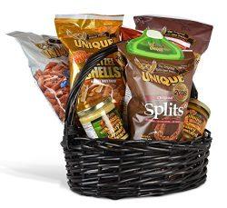 Unique Pretzels Small Gift Basket