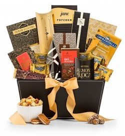 The Metropolitan Gourmet Gift Basket – Premium Gift Basket for Men or Women