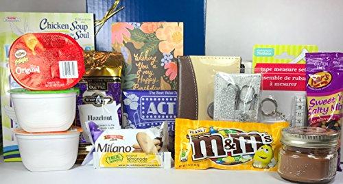 Womens Birthday Gift Box Basket Woman Misses Mom Daughter Grandma