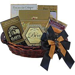 With Heartfelt Sympathy Gourmet Food Gift Basket – Small SUMMER