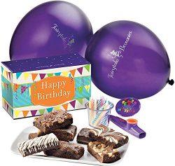 Fairytale Brownies Birthday Treasure Surprise Gourmet Food Gift Basket Chocolate Box – 3 I ...