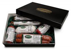 "3.5 lb ""Tour of Italy"" Gourmet Italian Meat Sampler Gift Box"