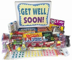 Get Well Soon Gift Box – Feel Better Care Package Wishes for Women, Men, Children