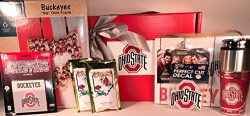 The Ohio State Gift Box Basket – 4 Licensed Items & 1 Puzzle & 2 Premium Coffee &# ...