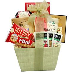 Broadway Basketeers Organic and Natural Healthy Gift Basket – A Healthy Gift Basket