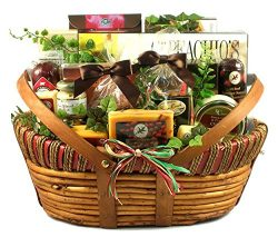 Meat and Cheese Fathers Day Gift Basket | Size Large