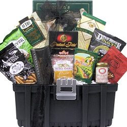 Home is Where You Hang Your Hammer: Housewarming Gourmet Snacks Toolbox Gift Basket
