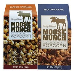Harry & David Moose Munch Gourmet Popcorn Classic Caramel & Milk Chocolate 4.5 oz Packag ...