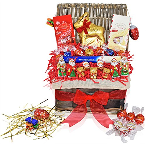 Lindt Christmas Chocolate Variety Gift Pack
