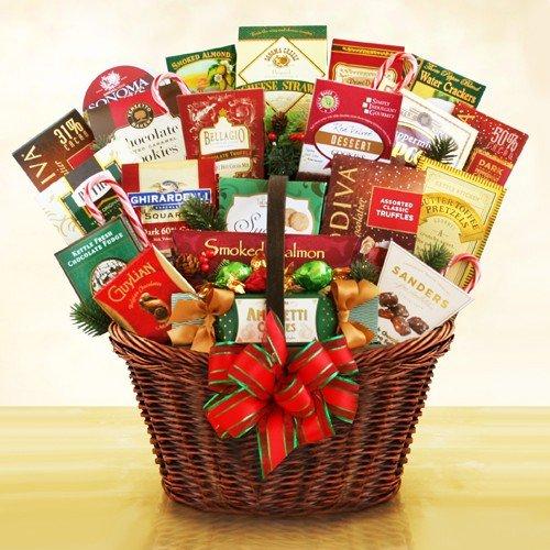 Magic of christmas gift basket makes a great holiday
