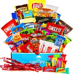 Canopy Snacks – Ultimate Snacks Variety Box – Chips, Cookies, Candy Assortment Bundl ...
