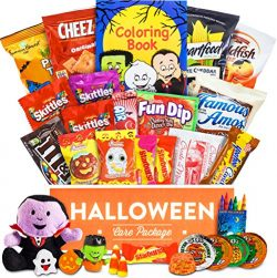 Halloween Care Package – Chocolates, Candy, Snacks, Toys, and more!! (30 count)