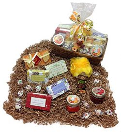 Aromatic Soaps Autumn Gift Basket – Fragrant Bath Bar Soaps, Bath Fizzers, Candles, Candy  ...