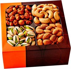 Five Star Gift Baskets Gourmet Food Nuts, 4 Different Delicious Nuts!