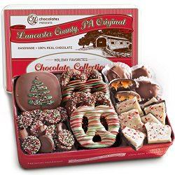 Premium Handmade Chocolate Collection in Gift Tin