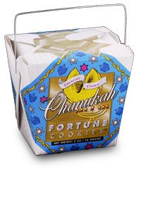 Hanukkah Fortune Cookies, Includes Fun Facts About Hanukkah