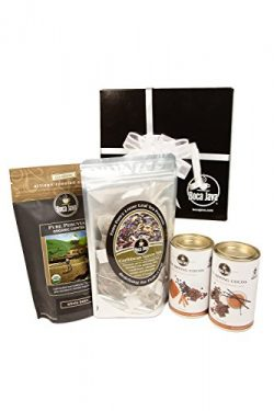 Boca Java Roast to Order Coffee, Coffee, Tea & Cocoa Sampler Gift Set – with Ground Coffee